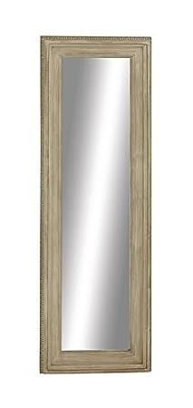 """Deco 79 97069 Wood Wall Mirror, 24"""" x 70"""""""