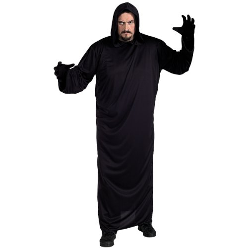 Black Robe Costume - Plus Size - Chest Size 46-50