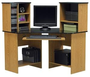 Buy Low Price Comfortable Corner Computer Desk by Ameriwood 49652 (B005LWNO8M)