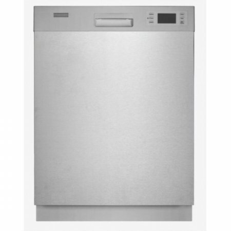 Equator Advanced Appliances Sb 80 Equator Fullsized Semibuilt In Dishwasher Silver front-221848
