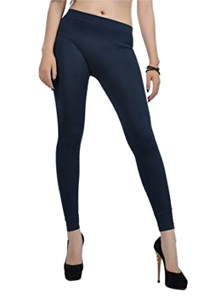 Soho Apparel Girls Seamless Lady Long Legging SG-32-Navy Nylon Spandex