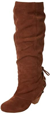Naughty Monkey Women's Fall Fever Boot,Tan,6 M US