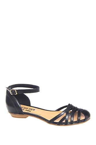 Pico Ankle Strap Flat Sandal