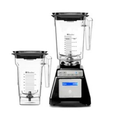 Blendtec Residential HPA62126 - WildSide Combo Blender w/Wildside & FourSide Jar, Black