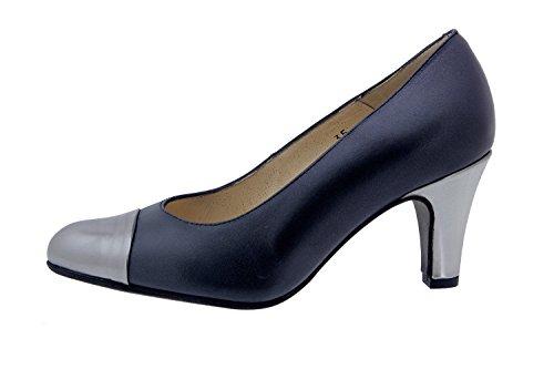 Scarpe donna comfort pelle Piesanto 4203 scarpe di sera comfort larghezza speciale