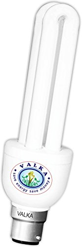 5 Watt 2U CFL Bulb (White,Pack of 6)