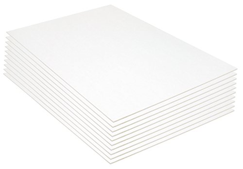 Pacon Foam Board, 20 x 30 Inches, 3/16-Inch Thick, White, 10 Sheets (5553) (Foam Presentation Board compare prices)
