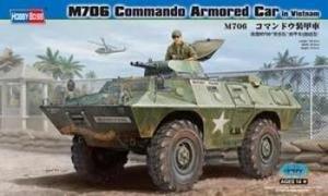 HBB82418 Hobbyboss 1:35 M706 Commando Armored Car in Vietnam plastic model kit
