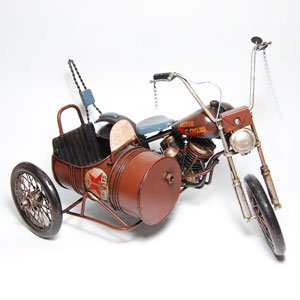 Amazon.com : Black Harley Davidson Motorcycle W/sidecar 1