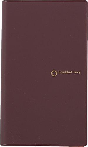 フランクリン・プランナー 手帳 7つの習慣ウィークリー 2017 1月始まり ウィークリー スリム PVC バーガンディ 63064