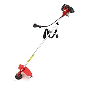 NEW TRUESHOPPING® 52CC PROFESSIONAL PETROL GRASS STRIMMER - POWERFUL HEAVY DUTY MODEL - GARDEN BRUSHCUTTER - LAWN TRIMMER - 2-STROKE 2.2KW 3HP