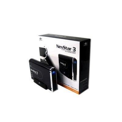 Vantec NexStar 3 NST-360UF-BK 3.5-Inch IDE to USB 2.0 and 1394a External Hard Drive Enclosure (Onyx Black)