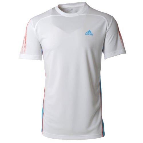Adidas Mens ClimaCool Response Tennis T Shirt - White - X22456