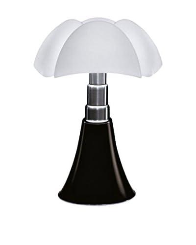 Martinelli Luce Lampada Da Tavolo LED Mini Pipistrello Touch Testa di Moro/Bianco Ø27 H 35 cm