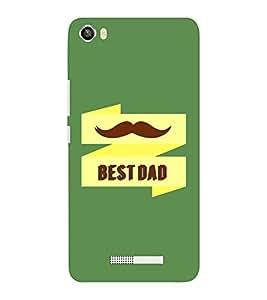 EPICCASE Best Dad Mobile Back Case Cover For Lava Iris X8 (Designer Case)
