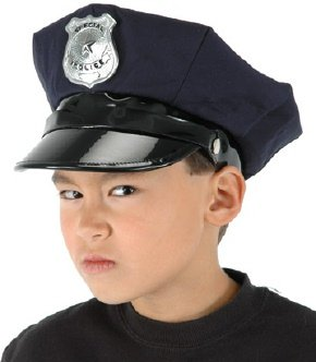 Police Costume Hat for Children