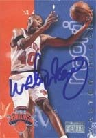 Walter McCarty New York Knicks 1997 Skybox Premium Autographed Hand Signed Trading... by Hall of Fame Memorabilia