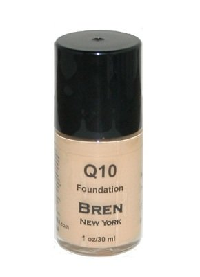 BREN NEW YORK FOUNDATION WITH CO-ENZYME Q10 MATTE FINISH SHADE: BISQUE