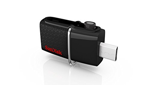 SanDisk Ultra Dual USB Drive 3.0, SDDD2 32GB, USB3.0, Black, USB3.0/micro-USB connector, OTG-enabled Android devices