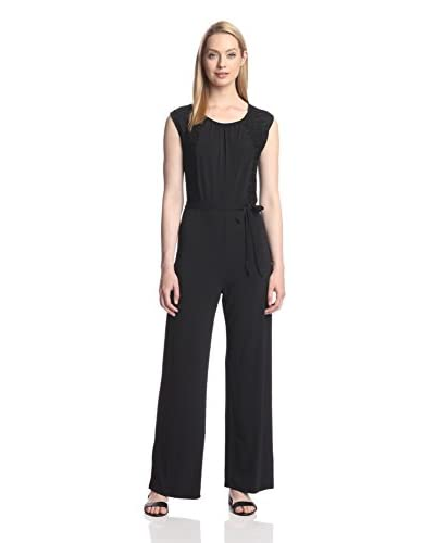 Sharagano Women's Sleeveless Jumpsuit
