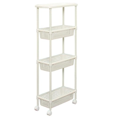 Laundry Cart Kitchen Cart for Narrow Space MKW-4SB002DE1032 ...