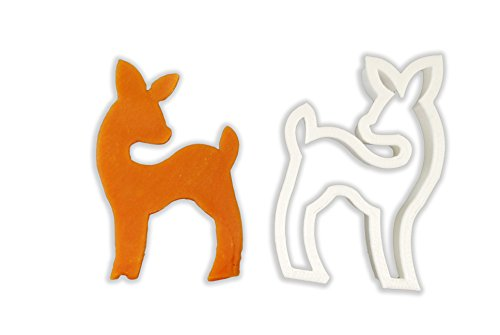 Baby Deer Cookie Cutter - STANDARD - 3 Inches (Deer Cutter compare prices)