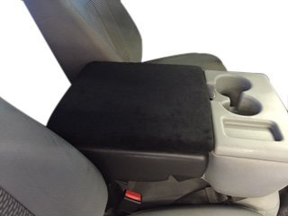 FORD F-150 2002 - 2016 Truck Auto Center Armrest Cover Protects from Dirt and Damage Renews old damaged consoles - Black (Seat Cover For F150 Truck compare prices)