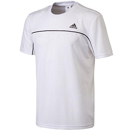 (アディダス)ADIDAS M ESS BC ショートスリーブTシャツ KAZ10 S91194 ホワイト J/O