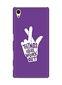 AMEZ things will work out Back Cover For Sony Xperia Z5