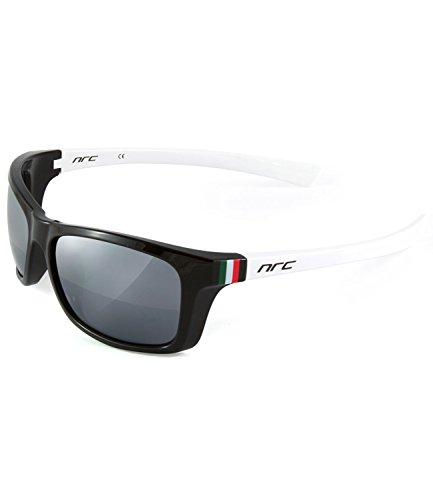NRC Zero_Line Z6.150 Cycling Glasses One Size Black/White/Tricolour