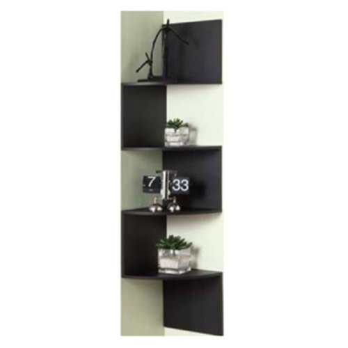 4D Concepts Hanging Corner Storage - Black
