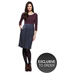 M&S Collection Striped Pocket Dress