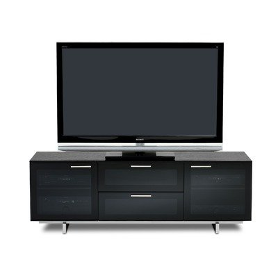 Cheap Avion Noir II 65″ TV Stand in Black Stained Oak (8937B)