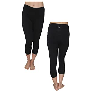 Buy Marika Ladies Sports Skinny Pants Leggings Yoga Capri Pants by Marika