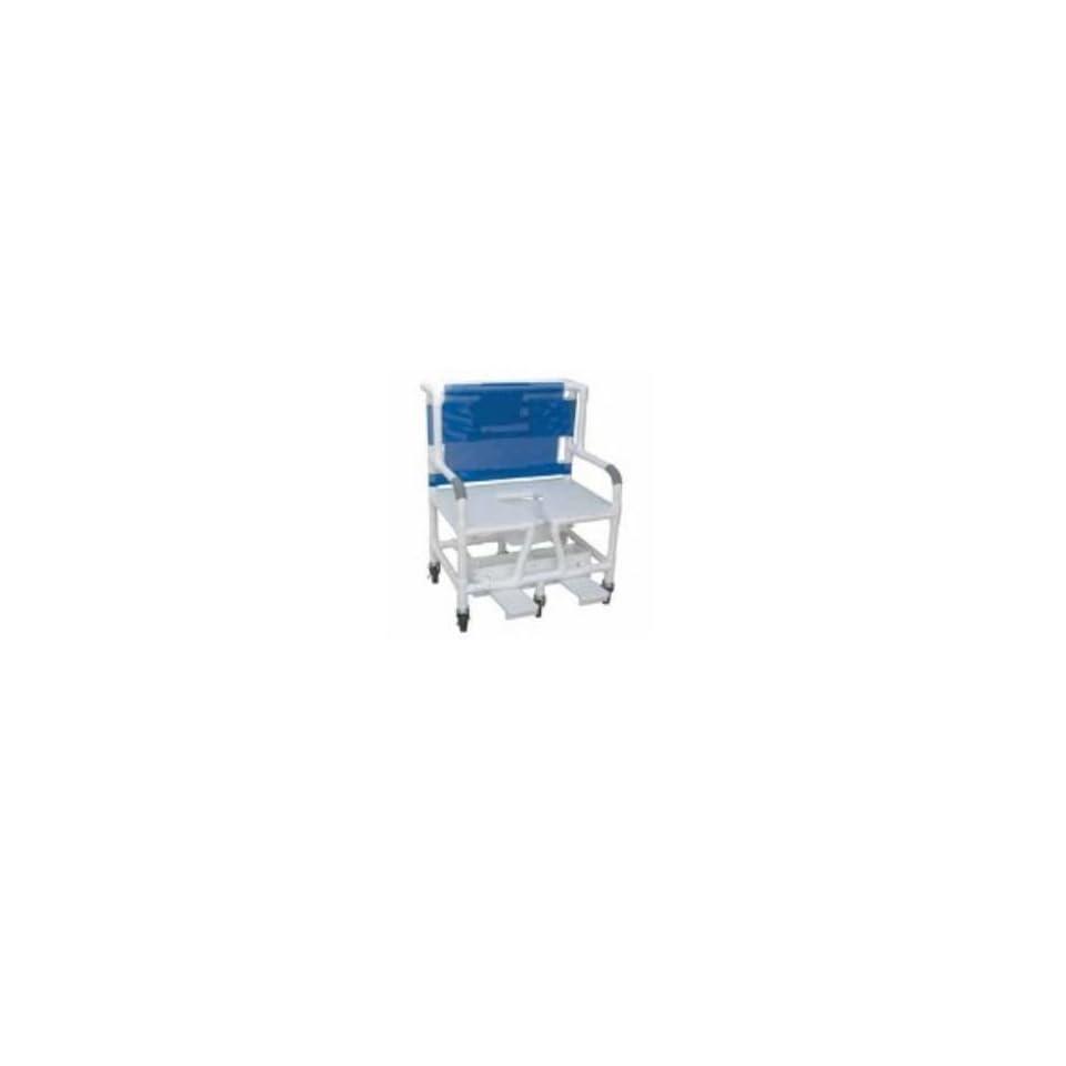 MJM International 131 5DB Bariatric Shower  Commode Chair