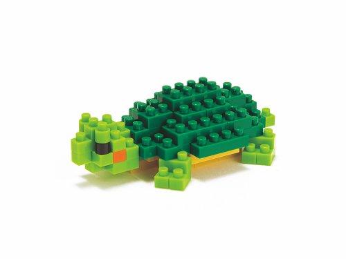 Kawada Nanoblock NBC033 Turtle Red-eared Slider Building Kit