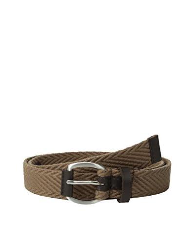 Ben Sherman Cintura Herringbone Webbing