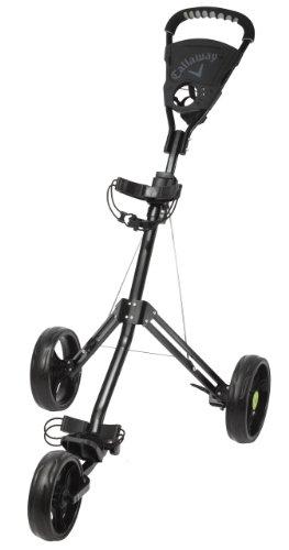 Callaway Day Tripper Push Trolley Golftrolley, schwarz