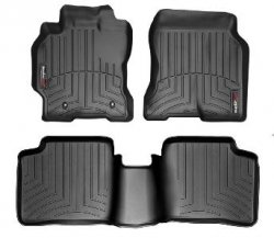 Weathertech 44045-1-2 Front and Rear Floorliners (2006 Cayenne Weathertech compare prices)