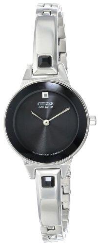 Citizen EX1320-54E - Orologio da polso da donna, cinturino in acciaio inox colore argento