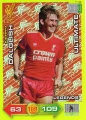 Liverpool Adrenalyn Xl 20112012 Kenny Dalglish Ultimate 1112 from Panini