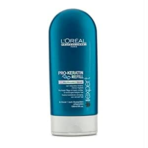 L'Oreal Serie Expert Pro-Keratin Refill Correcting Care Conditioner for Unisex, 5 Ounce