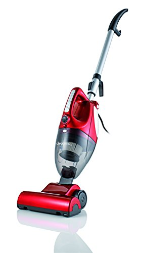 TV-Unser-Original-00157-cleanmaxx-Turbo-Handstaubsauger-2-in-1-mit-Bodendse-800-W-rot