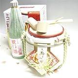 純米酒祝い酒(720ml) & ミニ鏡開きセット 「とそ飾り」