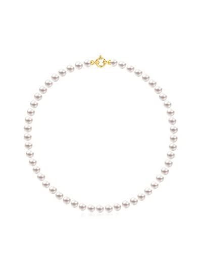 Pearl Addict Collar oro amarillo 18 ct