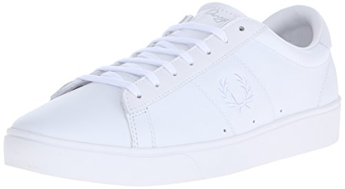 Fred Perry Spencer Uomo Sneaker Bianco, White, 43