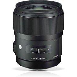 Sigma 340306 35mm F1.4 DG HSM Lens for Nikon (Black)