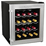 16 Bottle Wine Refrigerator with Wood Shelves – EdgeStar