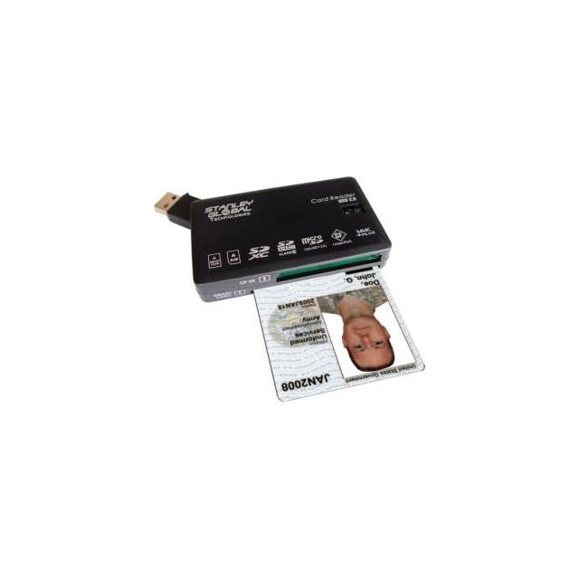 SGT122 CAC Smart Card Multi Memory Seven Slot Reader/Writer/Editor