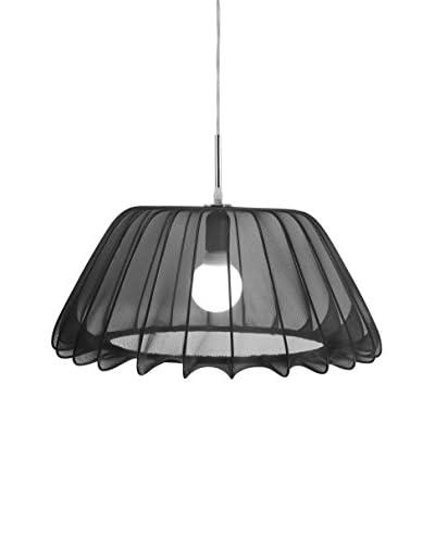 Lámpara De Suspensión Amarili Negro